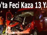 Sinop'ta Feci Kaza 13 Yaralı