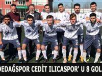 BAFRA DEDEDAĞSPOR CEDİT ILICASPOR' U 8 GOLLE GEÇTİ