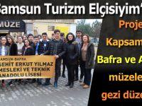''Samsun Turizm Elçisiyim'' Projesi Kapsamında 5. Gezi Düzenlendi