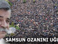 SAMSUN OZAN ARİF'İ UĞURLADI
