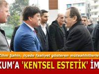 Başkan Zihni Şahin, ilçede faaliyet gösteren müteahhitlerle buluştu