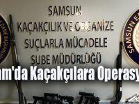 Alaçam'da Kaçakçılara Operasyon