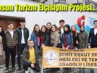 Samsun Turizm Elçisiyim Projesi...
