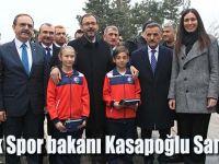 Gençlik Spor bakanı Kasapoğlu Samsun'da