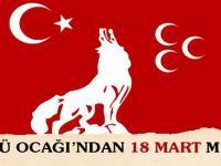 Ülkü Ocakları Çanakkale Zafer Mesajı