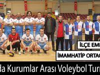 Bafra'da Kurumlar Arası Voleybol Turnuvası