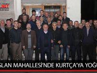 ALPARSLAN MAHALLESİ'NDE KURTÇA'YA YOĞUN İLGİ