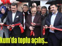 Atakum'da toplu açılış…