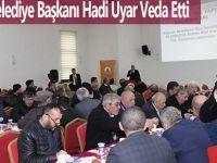 Alaçam Belediye Başkanı Hadi Uyar Veda Etti