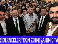 HEMŞEHRİ DERNEKLERİ''DEN ZİHNİ ŞAHİN'E TAM DESTEK