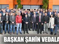 Başkan Zihni Şahin'den tüm personele veda