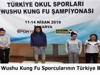 Ladikli wushu kung fu Sporcularının Türkiye Başarısı