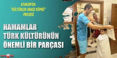 """ATAKUM'DA """"KÜLTÜRLER ARASI KÖPRÜ"""" PROJESİ"""