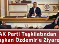 AK Parti Teşkilatından Başkan Özdemir'e Ziyaret