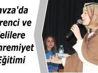 Havza'da Öğrenci ve Velilere Mahremiyet Eğitimi