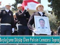 Asansör Boşluğuna Düşüp Ölen Polisin Cenazesi Toprağa Verildi