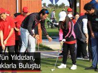 Golfün Yıldızları, Çocuklarla Buluştu