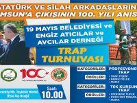 19 Mayıs Belediyesi 100.Yıl Etkinliklerine Trap Atışları Turnuvası İle Başlıyor