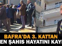 Bafra'da 3. Kattan Düştü! Hayatını Kaybetti...