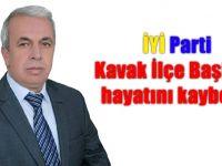 İYİ Parti Kavak İlçe Başkanı hayatını kaybetti