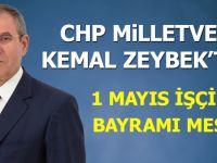 Milletvekili Zeybek'ten 1 Mayıs İşçiler Mesajı
