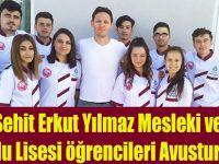Bafra Şehit Erkut Yılmaz Mesleki ve Teknik Anadolu Lisesi Öğrencileri Avusturya'da.