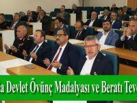 Samsun'da Devlet Övünç Madalyası ve Beratı Tevcih Töreni
