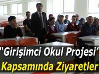"""""""Girişimci Okul Projesi"""" Kapsamında Ziyaretler"""