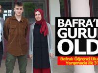 Bafralı Öğrenci Uluslararası Yarışmada İlk 3'E Girdi