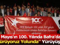 """19 Mayıs'ın 100. Yılında  Bafra'dan Yürüyoruz Yolunda"""" Yürüyüşü"""