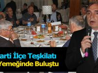 İYİ Parti İlçe Teşkilatı İftar Yemeğinde Buluştu
