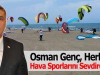 Osman Genç, Herkese Hava Sporlarını Sevdireceğiz