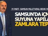 Milletvekili Yaşar'dan Samsun'da Suya Yapılan Zamlara Tepki!