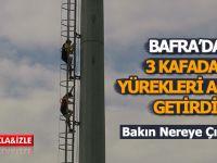 Bafra'da 3 Kafadar Bakın Nereye Çıktı