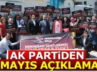 Ak Parti'den 27 Mayıs Açıklaması