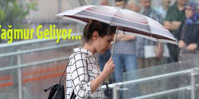 Meteorolojiden Yağmur Uyarısı