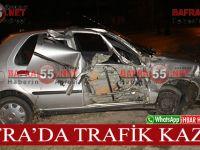 Samsun Sinop Karayolu'nda Trafik Kazası