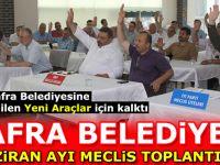 Bafra Belediye Haziran Ayı Meclis Toplantısı