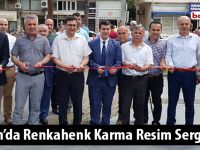 Alaçam'da Renkahenk Karma Resim Sergisi