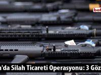 Samsun'da Silah Ticareti Operasyonu: 3 Gözaltı