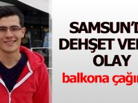 Samsun'da Dehşet Veren Cinayet