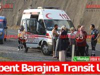 Derbent Barajına Transit Uçtu