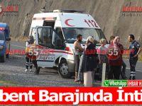 Derbent Barajında İntihar
