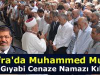 Bafra'da Muhammed Mursi için Gıyabi Cenaze Namazı Kılındı
