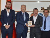 Samsun Baro Başkanından Başkanı Özdemir'e ziyaret