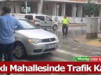 İshaklı Mahallesinde Trafik Kazası