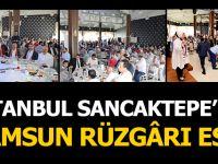 İstanbul Sancak Tepede Samsun Rüzgarı Esti