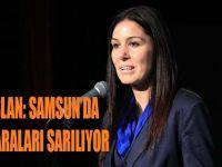 KARAASLAN: SAMSUN'DA AFETİN YARALARI SARILIYOR