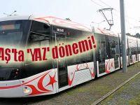 Samsun'da Tramvay ve otobüslerde yeni sefer programları