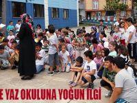 CANİK'TE YAZ OKULUNA YOĞUN İLGİ